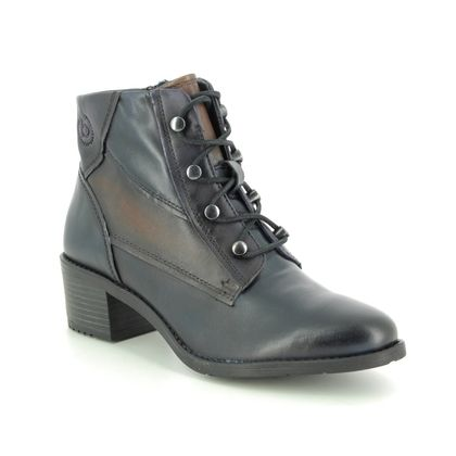 Bugatti Ankle Boots - Navy Leather - 4115623E/4181 RUBY