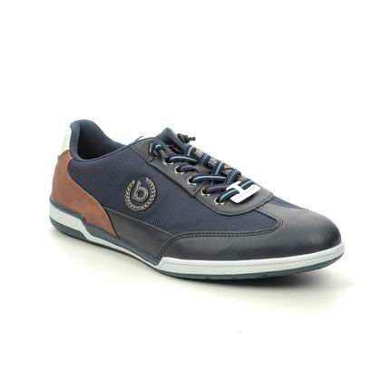 Bugatti Casual Shoes - Navy - 32172603/4100 SOLAR EXKO