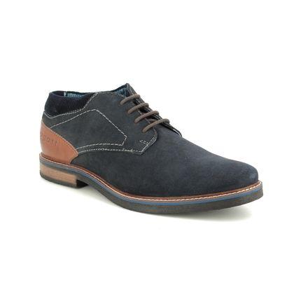 Bugatti Casual Shoes - Navy suede - 31160935/1400 VANDO