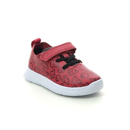 Clarks Boys Trainers - Red - 495677G ATH COMIC T DISNEY