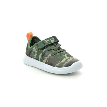 Clarks Boys Trainers - Camouflage - 460166F ATH FLUX T
