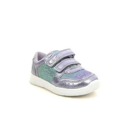 Clarks Girls Trainers - Lilac - 541217G ATH SONAR T