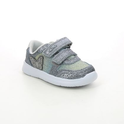 Clarks Girls Trainers - Metallic - 623196F ATH WING T