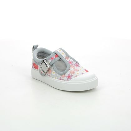 Clarks Girls Trainers - Silver - 570087G CITY DANCE T