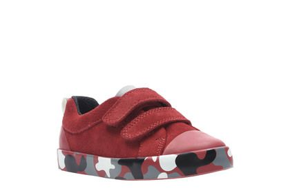 Clarks 1st Shoes & Prewalkers - Red multi - 3775/06F CITY VINE LO