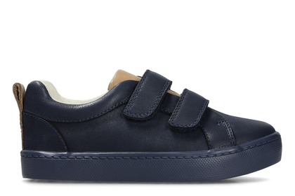 Clarks Boys Shoes - Navy - 3406/47G CITY OASIS