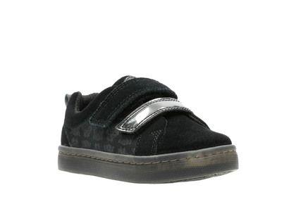 Clarks 1st Shoes & Prewalkers - Black Suede - 3766/97G CITY HERO