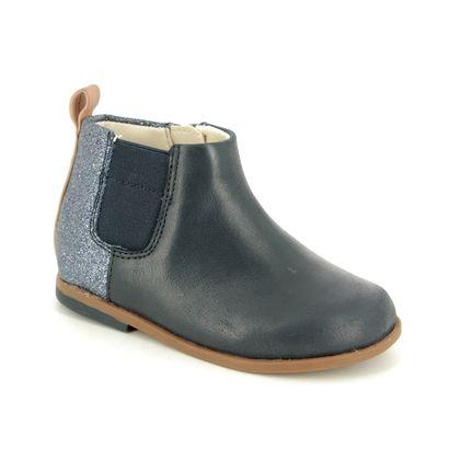 Clarks 1st Shoes & Prewalkers - Navy - 3791/66F DREW FUN