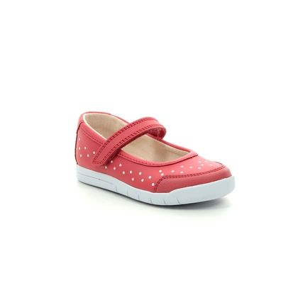 Clarks 1st Shoes & Prewalkers - Coral - 411707G EMERY HALO T