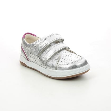Clarks 1st Shoes & Prewalkers - Silver - 624606F FAWN SOLO T