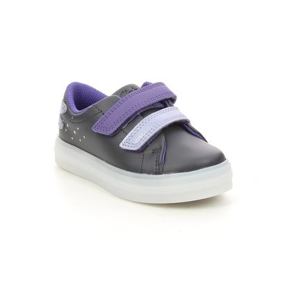 Clarks 1st Shoes & Prewalkers - Black - 620546F FLARE FLY T