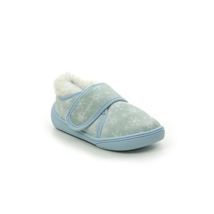 Clarks Slippers - Pale blue - 536707G HOLMLY ICE T