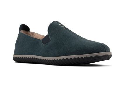 Clarks Slippers & Mules - Navy suede - 555847G HOME CHEER