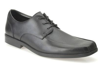 Clarks Boys Shoes - Black - 0079/36F HOXTON CHAP BL