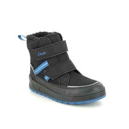 Clarks Boys Boots - Black - 535797G JUMPER JUMP K