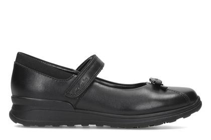 Clarks Girls Shoes - Black - 2661/77G MARIEL WISH INF