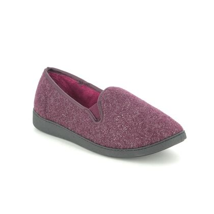 Clarks Slippers & Mules - Burgundy - 508954D MARSHA BELLE