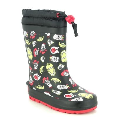 Clarks Wellingtons                   - Black - 537827G MUDDER HOWDY TOY STORY T