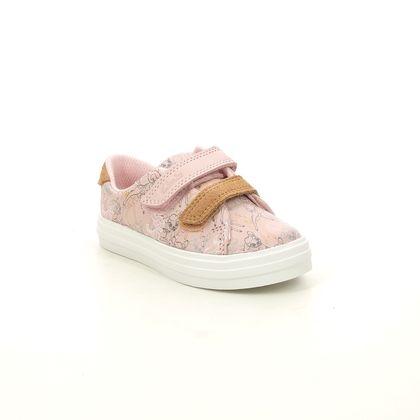 Clarks 1st Shoes & Prewalkers - Pink Leather - 628686F NOVA CRAFT BAMBI