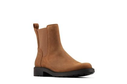 Clarks Chelsea Boots - Brown leather - 523264D ORINOCO TOP 2