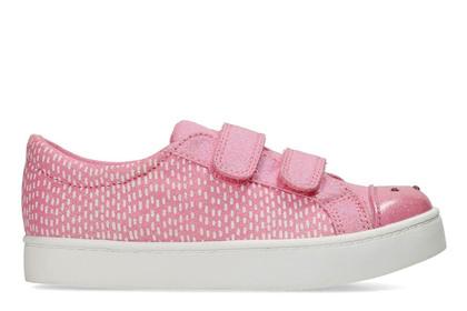 Clarks Girls Trainers - Pink - 3171/47G PATTIE LOLA
