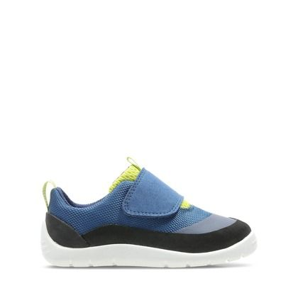 Clarks Boys Trainers - Blue - 450417G PLAY TRAIL T