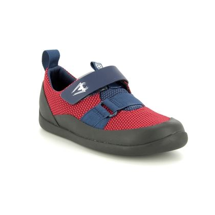 Clarks Boys Trainers - Red - 424507G SPIDERMAN PLAY WEB K