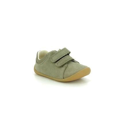 Clarks 1st Shoes & Prewalkers - Khaki - 422846F ROAMER CRAFT T