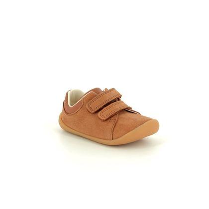Clarks 1st Shoes & Prewalkers - Tan Leather - 422906F ROAMER CRAFT T