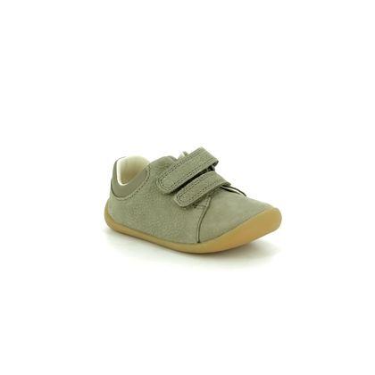 Clarks 1st Shoes & Prewalkers - Khaki - 422847G ROAMER CRAFT T