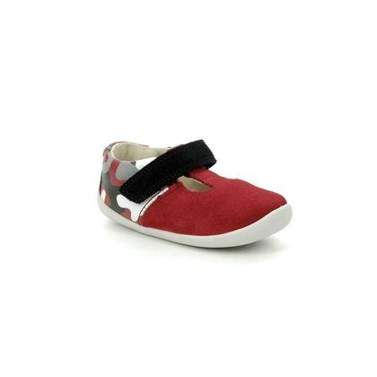 Clarks 1st Shoes & Prewalkers - Red - 3858/96F ROAMER GO
