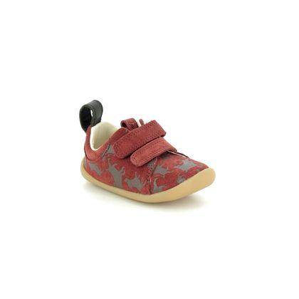 Clarks 1st Shoes & Prewalkers - Brown Suede - 455447G LION KING ROAMER WILD T DISNEY
