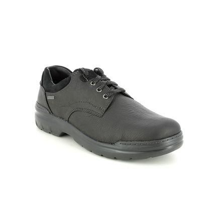 Clarks Casual Shoes - Black leather - 632378H ROCKIE 2 LO GTX