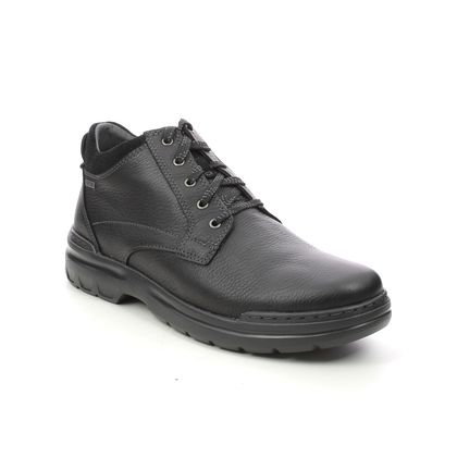 Clarks Boots - Black leather - 612568H ROCKIE 2 UP GTX