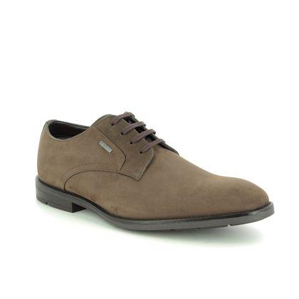 Clarks Smart Shoes - Brown nubuck - 458697G RONNIE WALK GTX