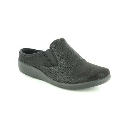 Clarks Trainers - Black - 3802/24D SILLIAN FREE