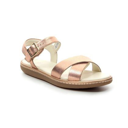 Clarks Girls Sandals - ROSE  - 423026F SKYLARK PURE K