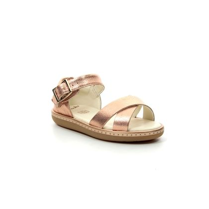 Clarks Girls Sandals - ROSE  - 423116F SKYLARK PURE T