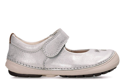 Clarks 1st Shoes & Prewalkers - Silver - 3343/56F SOFTLY EDEN
