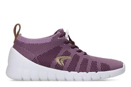 Clarks Girls Trainers - Purple - 3385/27G SPRINT AERO