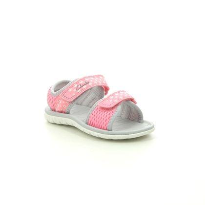 Clarks Girls Sandals - Pink - 493686F SURFING TIDE T