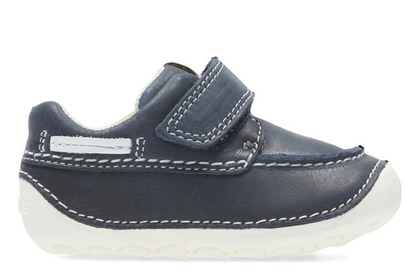 Clarks 1st Shoes & Prewalkers - Navy - 3169/27G TINY CLOUD