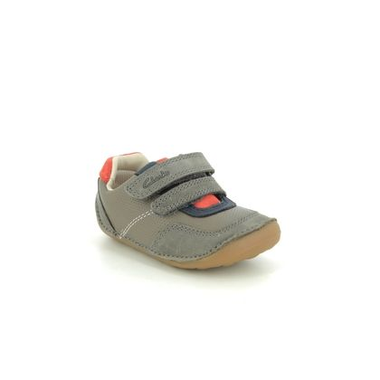 Clarks 1st Shoes & Prewalkers - Metallic Leather - 547237G TINY DUSK T