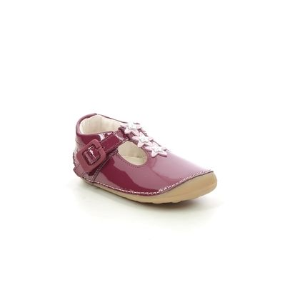 Clarks 1st Shoes & Prewalkers - Red patent - 624586F TINY FLOWER T