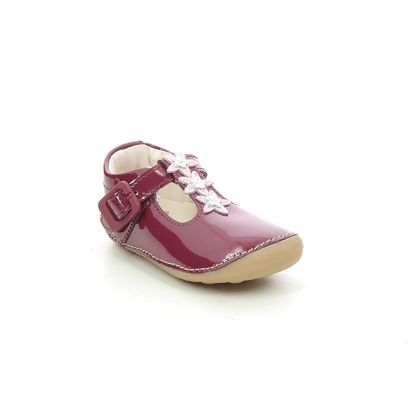 Clarks 1st Shoes & Prewalkers - Red patent - 624587G TINY FLOWER T