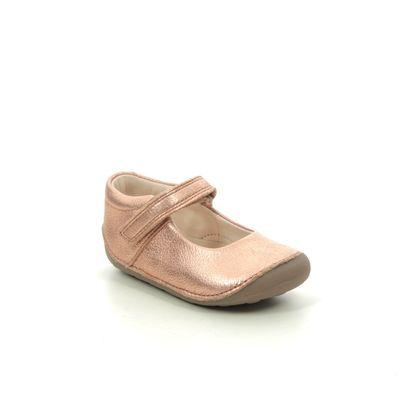 Clarks 1st Shoes & Prewalkers - Bronze - 470096F TINY MIST T