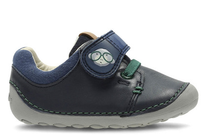 Clarks 1st Shoes & Prewalkers - Navy - 2724/77G TINY SID