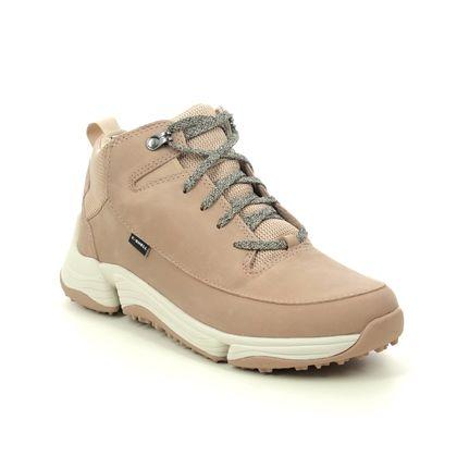 Clarks Walking Boots - Taupe nubuck - 488204D TRI PATH HIKER
