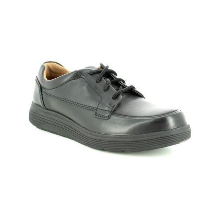 Clarks Casual Shoes - Black leather - 3698/48H UN ABODE EASE