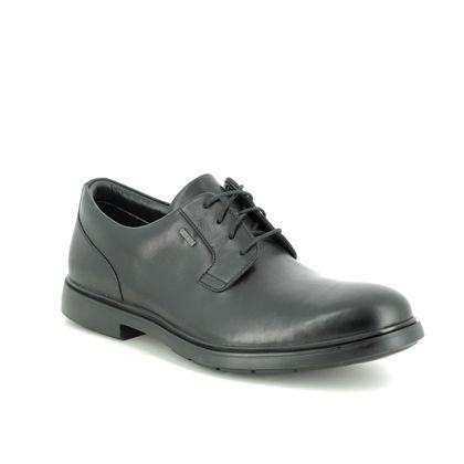Clarks Casual Shoes - Black leather - 454457G UN TAILORGO GT
